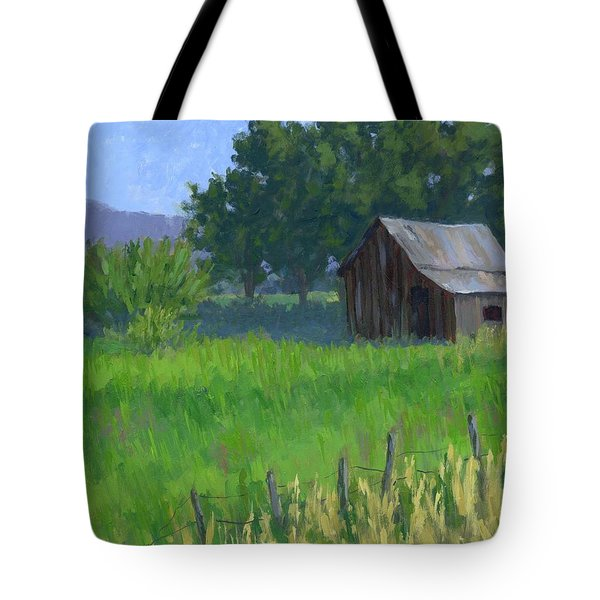 Rural Spring Tote Bag