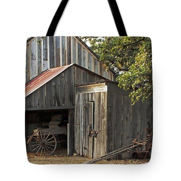Rural Texas Tote Bag by Joe Jake Pratt