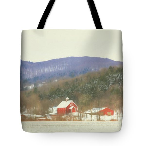 Rural Vermont Tote Bag by Sharon Batdorf