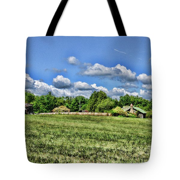 Tote Bag featuring the photograph Rural Virginia by Paul Ward