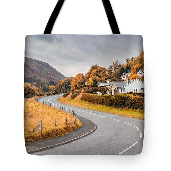 Rural Wales In Autumn Tote Bag
