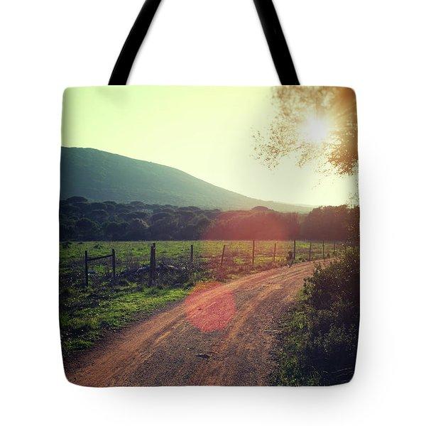 Rural Ways Tote Bag