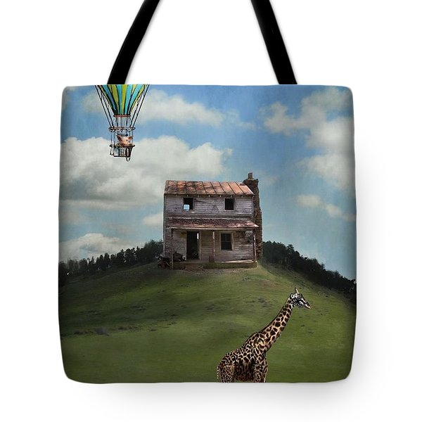Rural World Tote Bag by Kathy Russell
