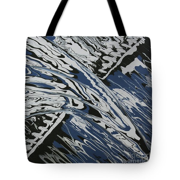 Rush Drip Tote Bag by Cathy Beharriell