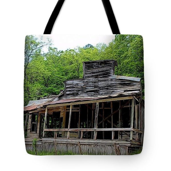Rush Ghost Town Tote Bag
