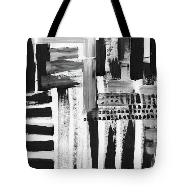 Rush Hour- Art By Linda Woods Tote Bag