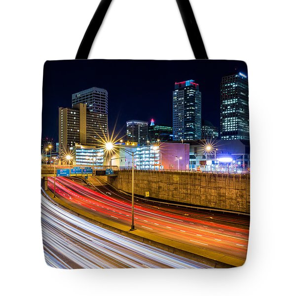 Tote Bag featuring the photograph Rush Hour In Hartford, Ct by Mihai Andritoiu