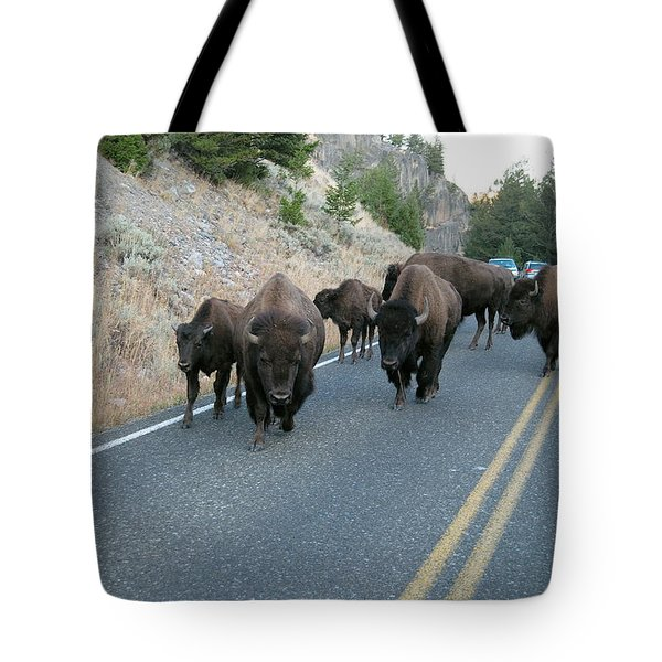 Rush Hour Tote Bag by Michael Peychich
