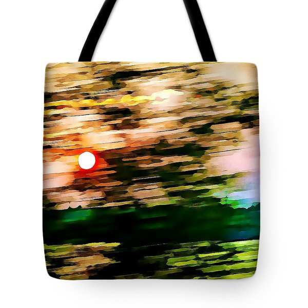 Rush To Go Home Tote Bag