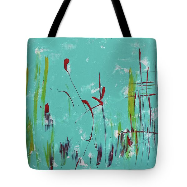 Rushes And Reeds Tote Bag