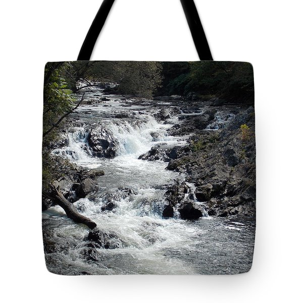 Rushing Water Tote Bag