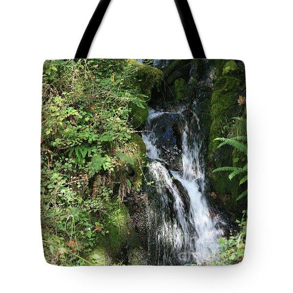 Rushing Water Tote Bag
