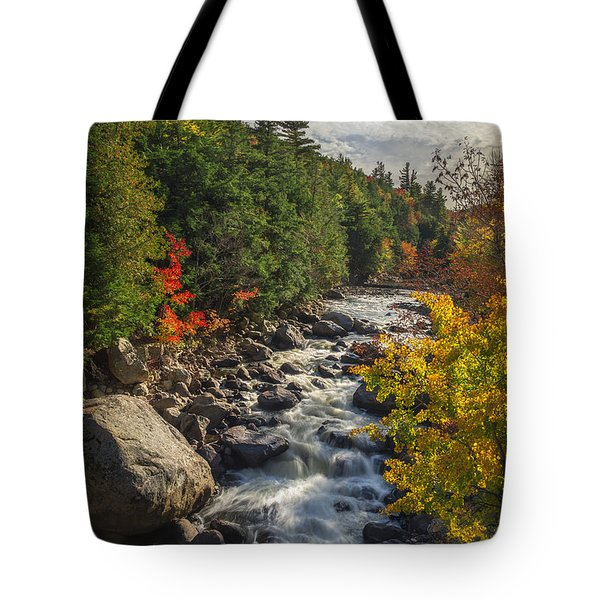 Rushing Waters Tote Bag by Mark Papke