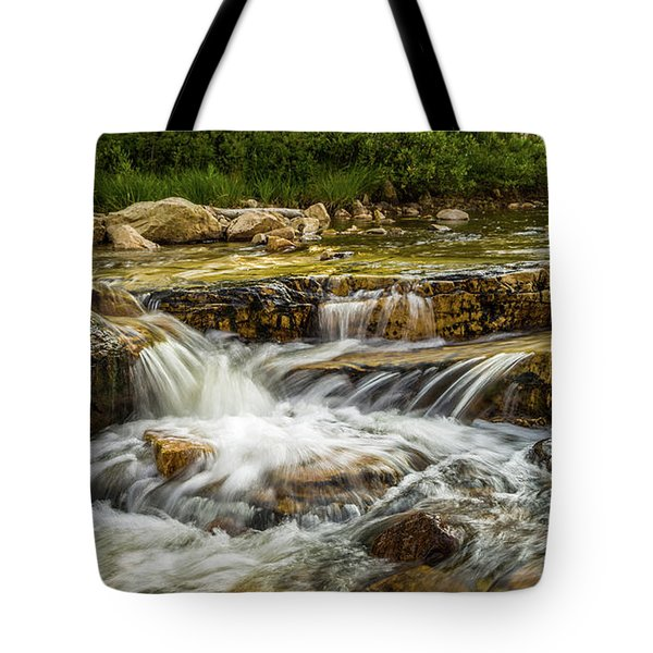 Rushing Waters - Upper Provo River Tote Bag
