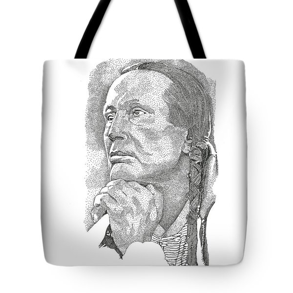 Russell Means Tote Bag