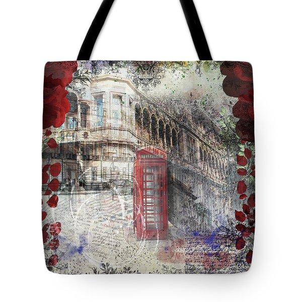 Russell Square Tote Bag