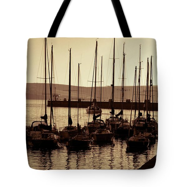 Russet Harbour Tote Bag
