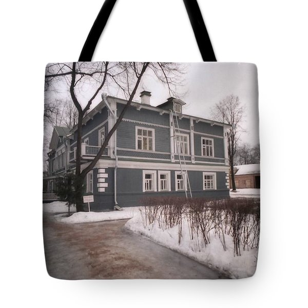 Russian Home January 89 Tote Bag by Ted Pollard