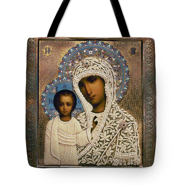Russian Icon: Mary Tote Bag by Granger