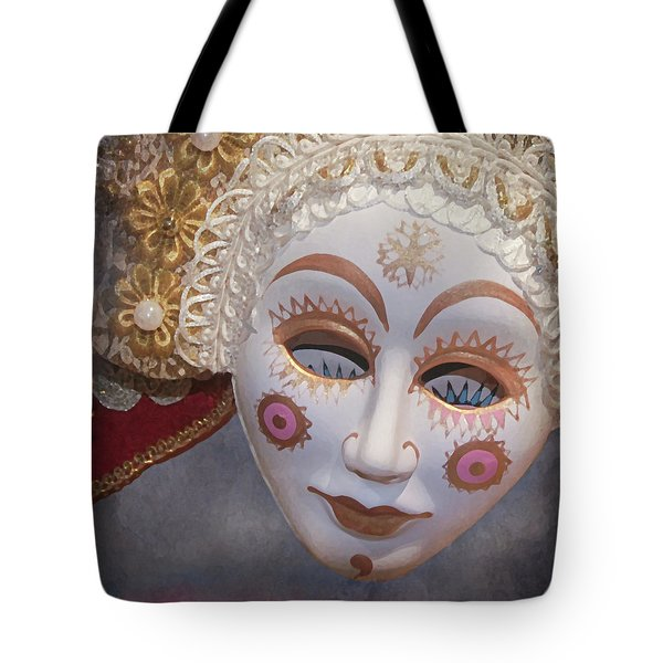 Russian Mask 4 Tote Bag by Jeff Burgess