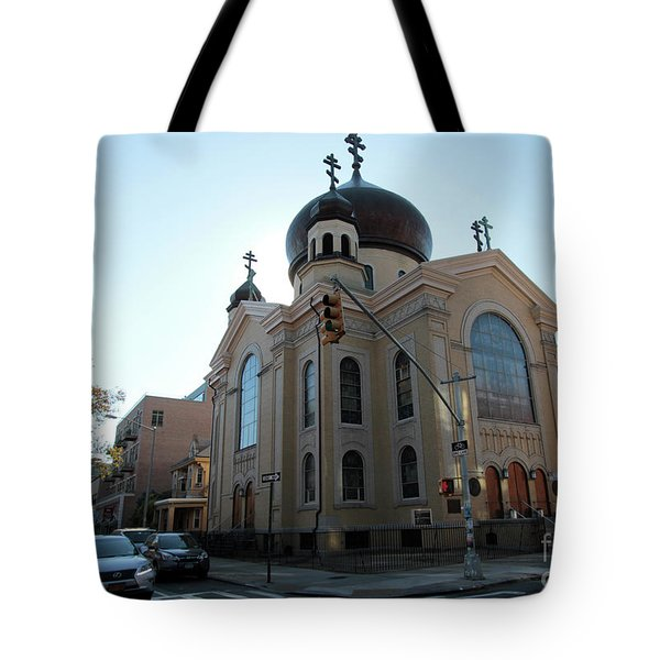 Russian Orthodox Cathedral Of The Transfiguration Of Our Lord Tote Bag