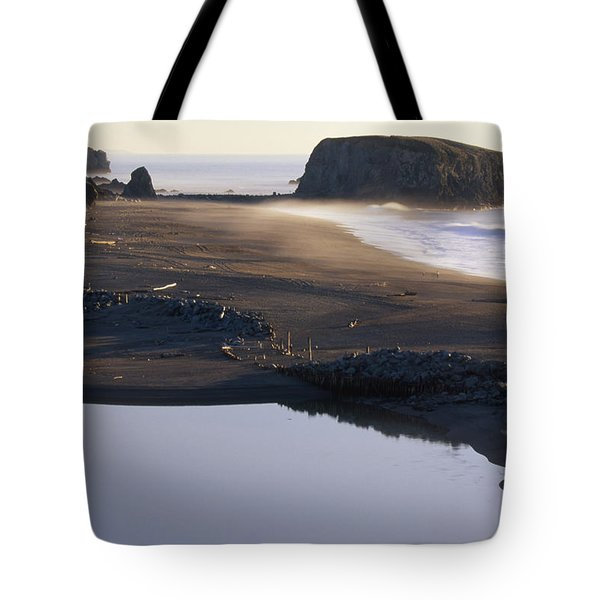Russian River And Goat Rock Tote Bag