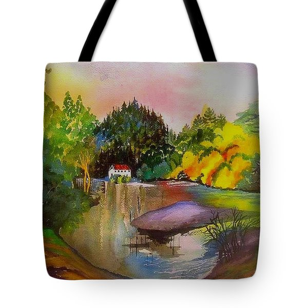 Russian River Dream Tote Bag