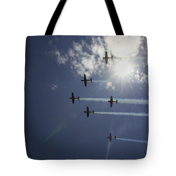 Tote Bag featuring the photograph Russian Roolettes And Sydney Sun by Miroslava Jurcik