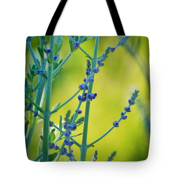 Russian Sage Tote Bag