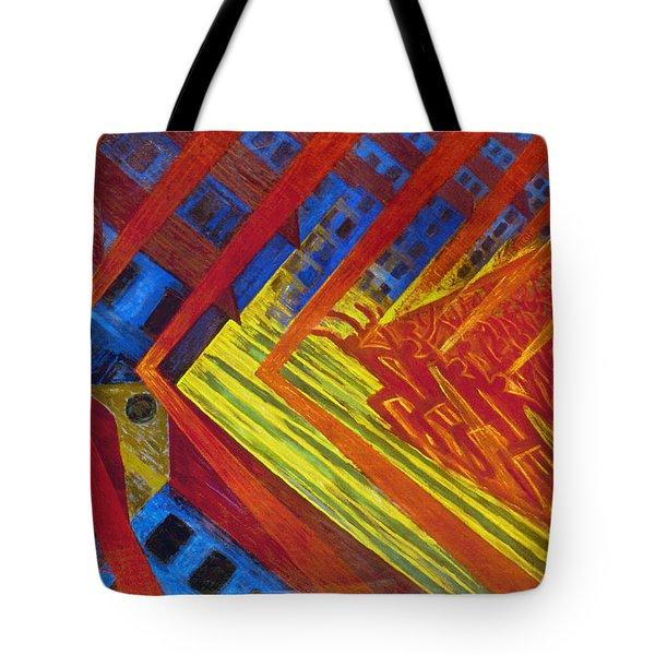 Russolo: Revolution, 1911 Tote Bag by Granger