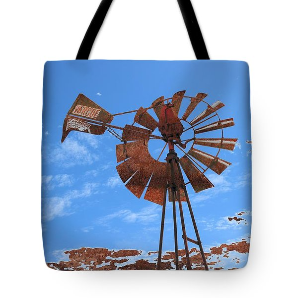 Tote Bag featuring the photograph Rust Age by Stephen Mitchell