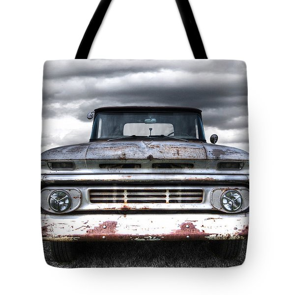 Rust And Proud - 62 Chevy Fleetside Tote Bag
