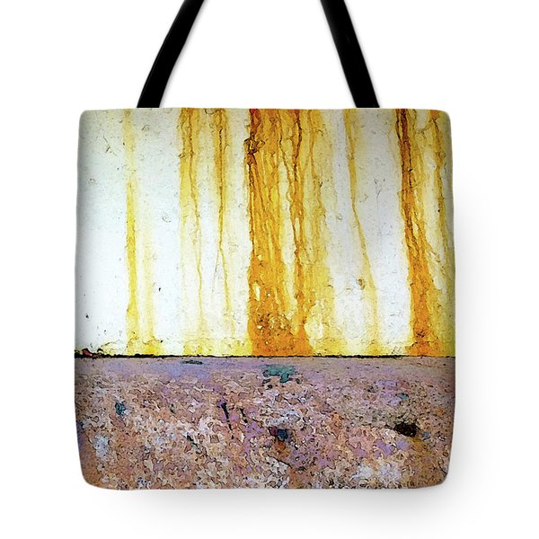 Rust Tote Bag by Anne Kotan