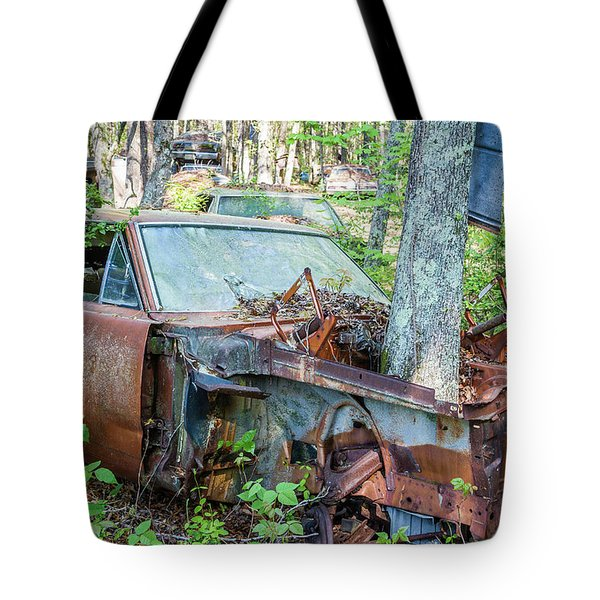 Rust Away Tote Bag by Menachem Ganon