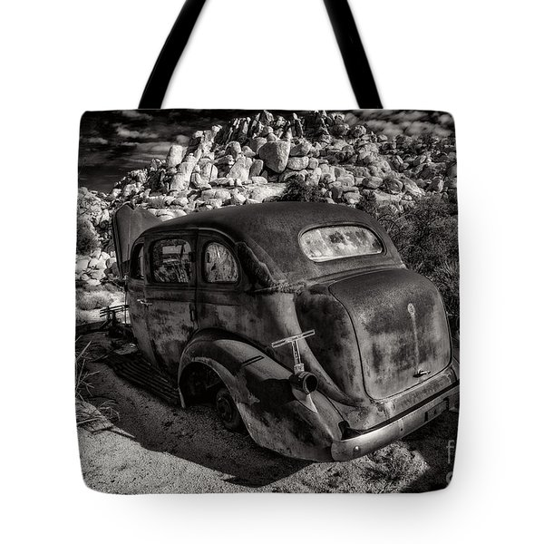 Rust Bucket Bw Tote Bag