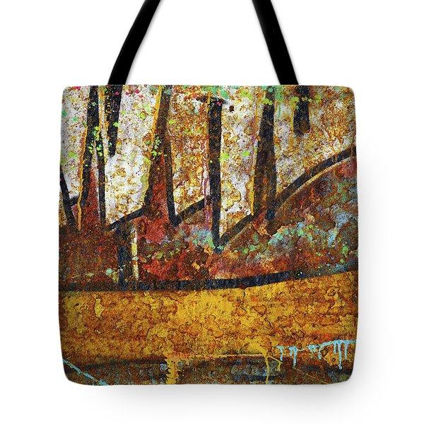 Rust Colors Tote Bag by Carlos Caetano