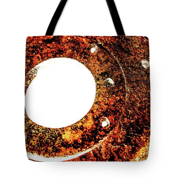 Tote Bag featuring the photograph Rust In Infrared by Onyonet  Photo Studios