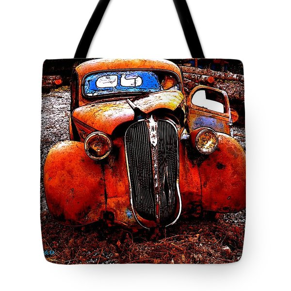 Rust In Peace Tote Bag by Sadie Reneau