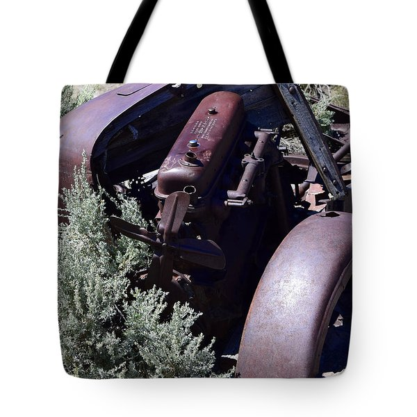 Rust In The Dust Tote Bag