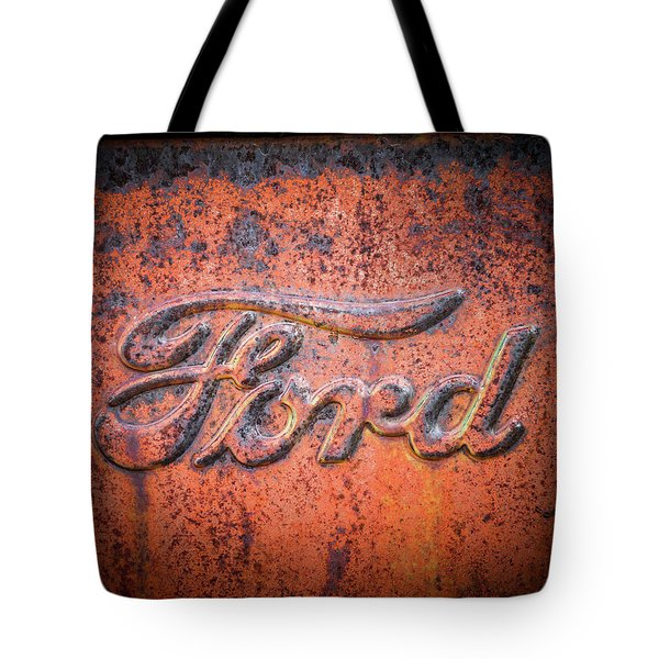 Rust Never Sleeps - Ford Tote Bag