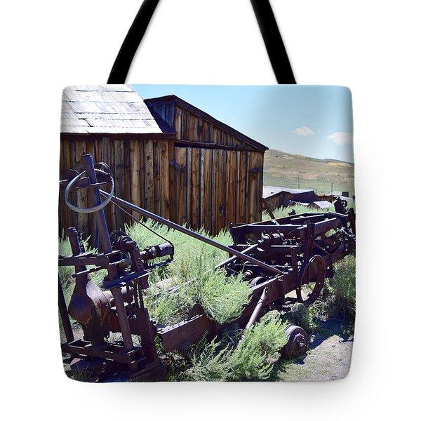 Rust Sleeps Tote Bag