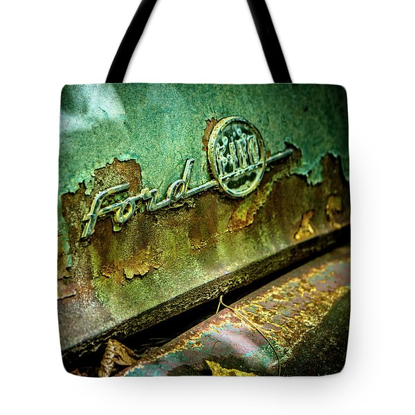 Rusted Ford Tote Bag