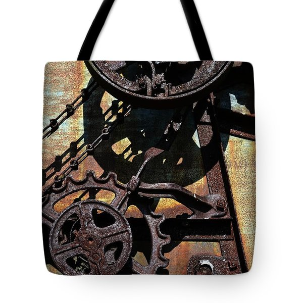 Rusted Gears 2.0 Tote Bag