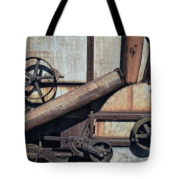 Rusted In Time Tote Bag