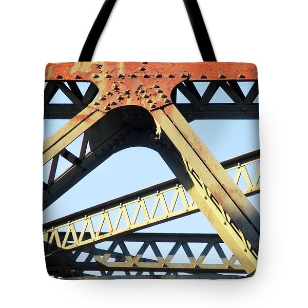 Rusted Tote Bag by Martin Cline