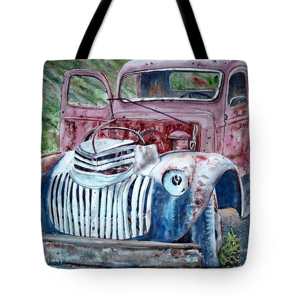 Rusted Memories 22x 30 Tote Bag