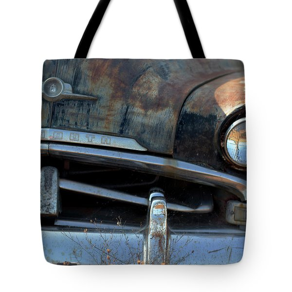 Rusted Out Plymouth Tote Bag