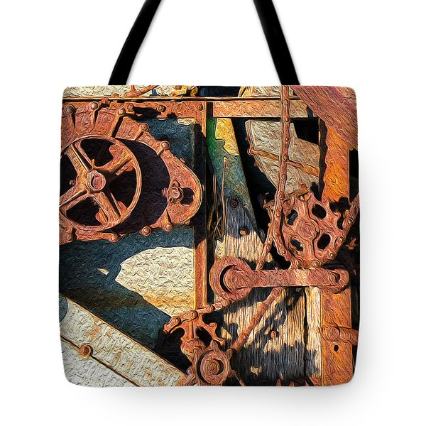Rusted Reaction Tote Bag