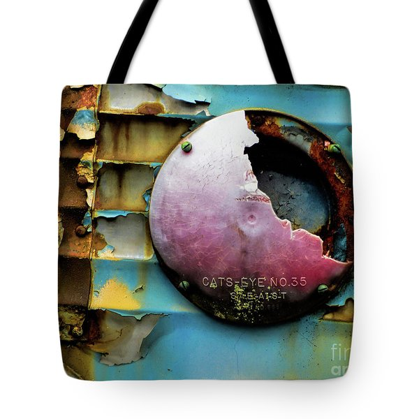 Rusted Series 3 Tote Bag by Laura Atkinson