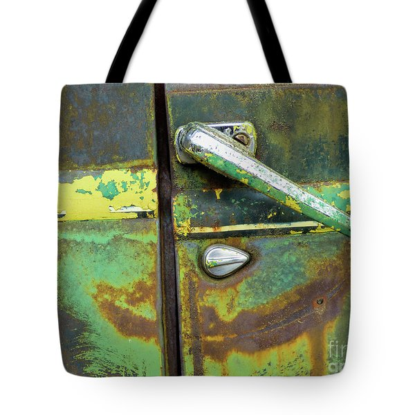 Rusted Series 4 Tote Bag by Laura Atkinson